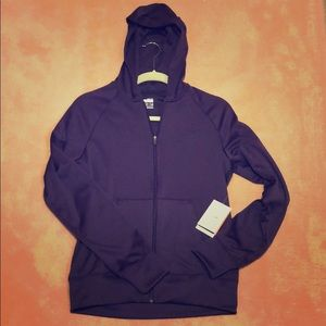 "Nike Women's ""FITDRY"" zip up"